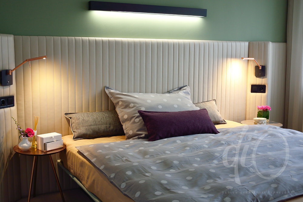 Balaton-felvidéki otthon - hálószoba