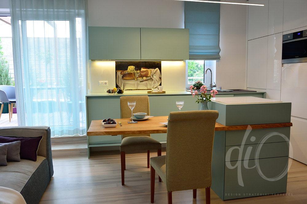 Balaton-felvidéki otthon - konyha