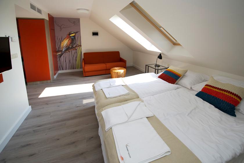 Magtár - gyurgyalag szoba