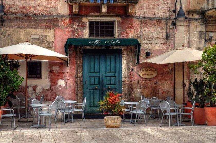 kávézó és terasz