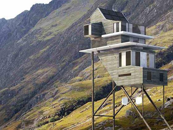ház a magasban