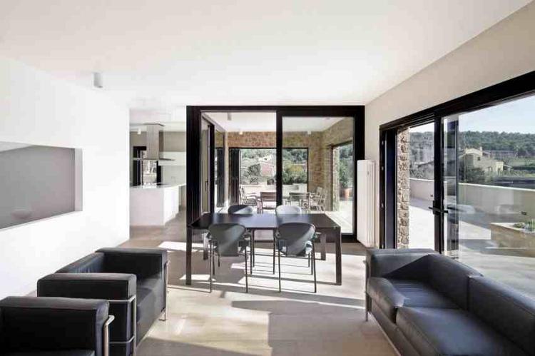 nappali és terasz