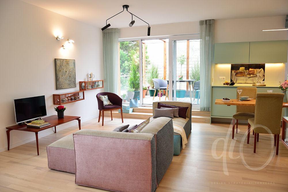 Balaton-felvidéki otthon - nappali
