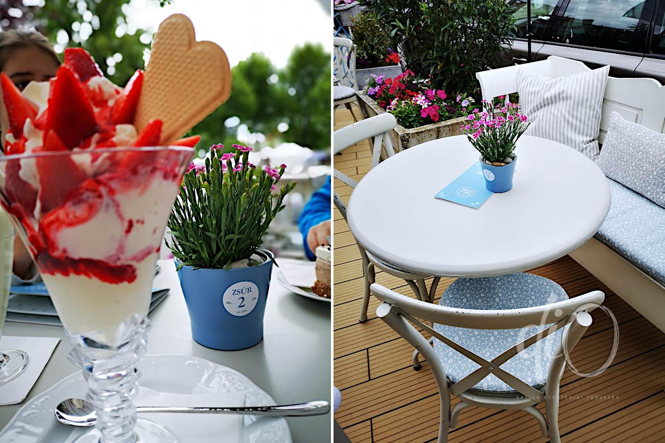 Zsúr Café & fagylaltozó